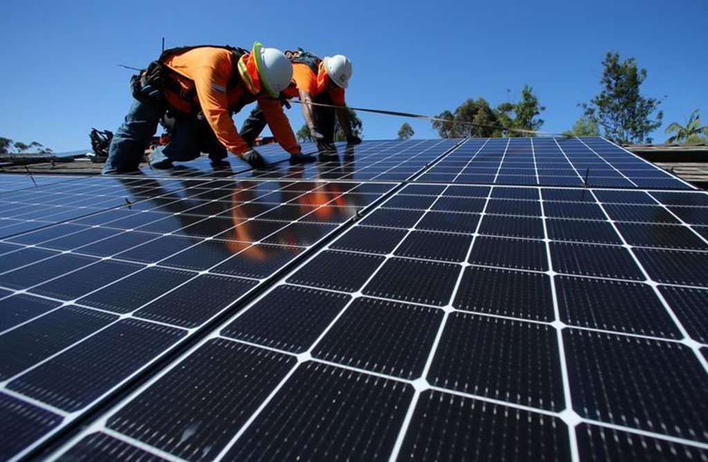 residential solar installer orange county CA
